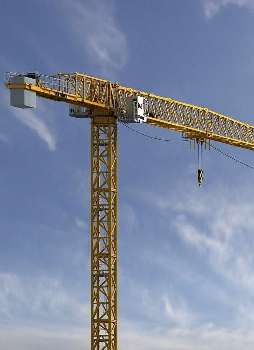 Liebherr introduceert nieuwe torenkraan op Intermat