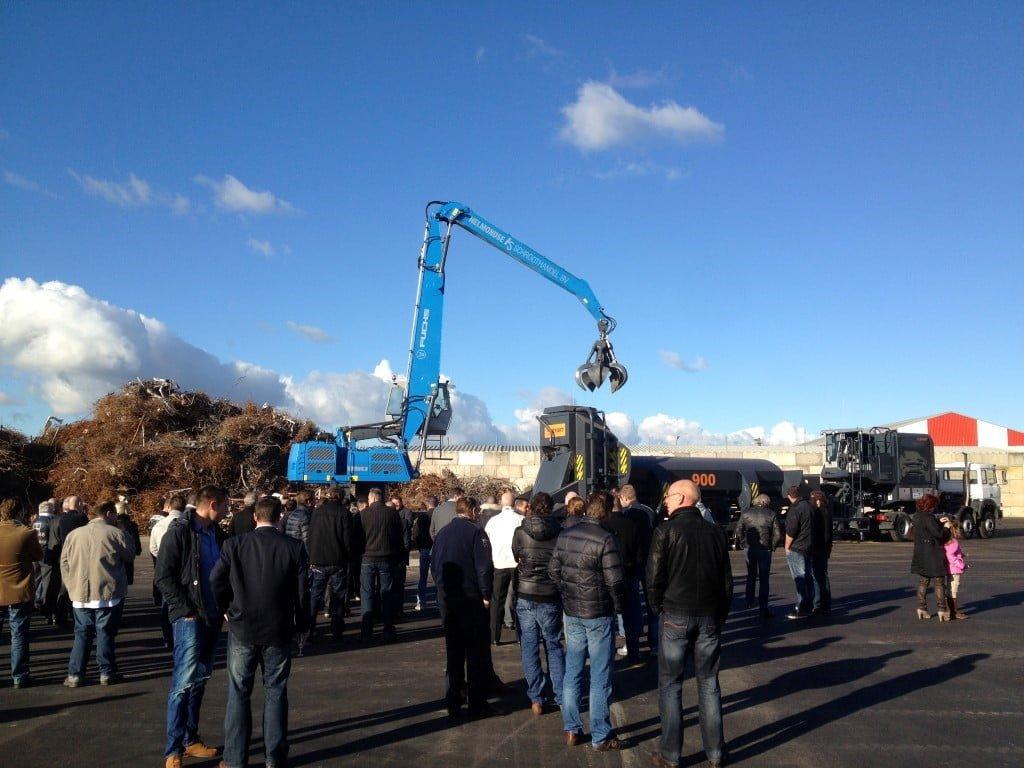 Helmondse Schroothandel B.V. opent nieuwe vestiging in Waalwijk met nieuwe machines