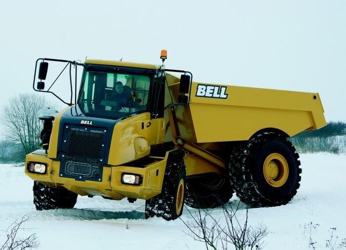 Nieuwe Bell B30D 4x4