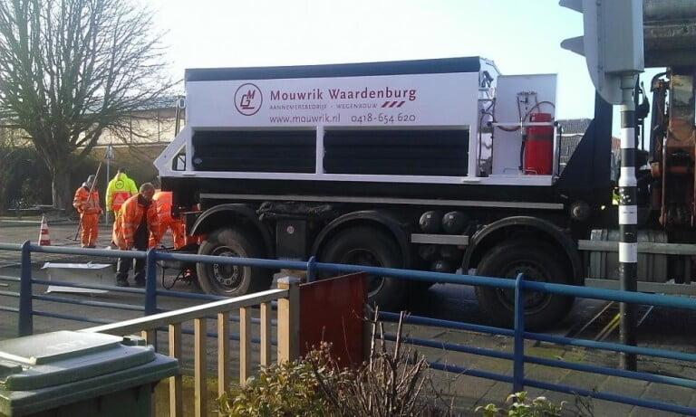 Mouwrik uit Waardenbrug neemt ATC 100 Hotbox in gebruik.