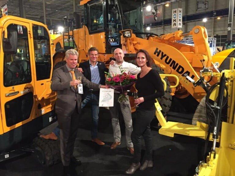 BMWT beloont Duurzame Bedrijfsvoering Van der Spek Vianen B.V.