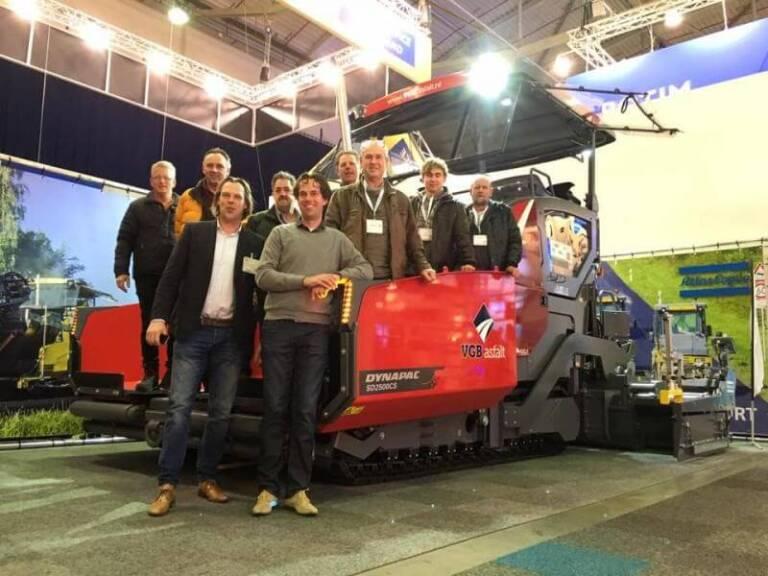 InfraTech ontvang www.gvbasfalt.nl op InfraTech