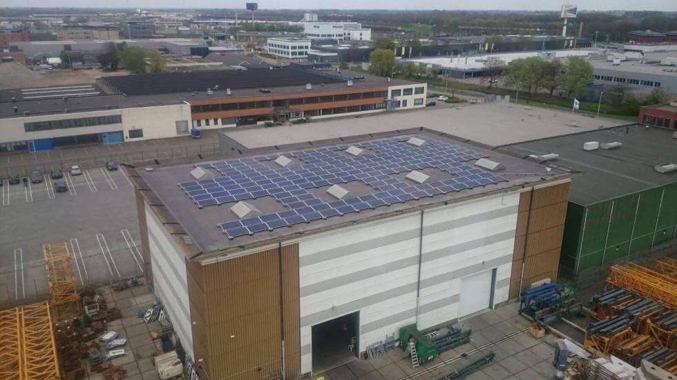 55.000 kWh stroomproductie door zonnepanelen bij Van der Spek Vianen