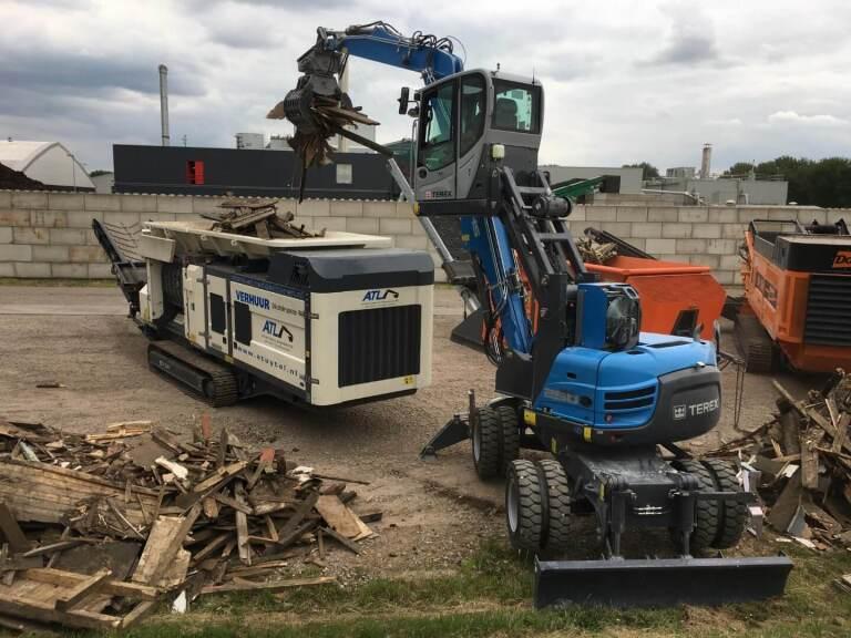 Van der Spek toont vele machines op BVOR-dagen 2017