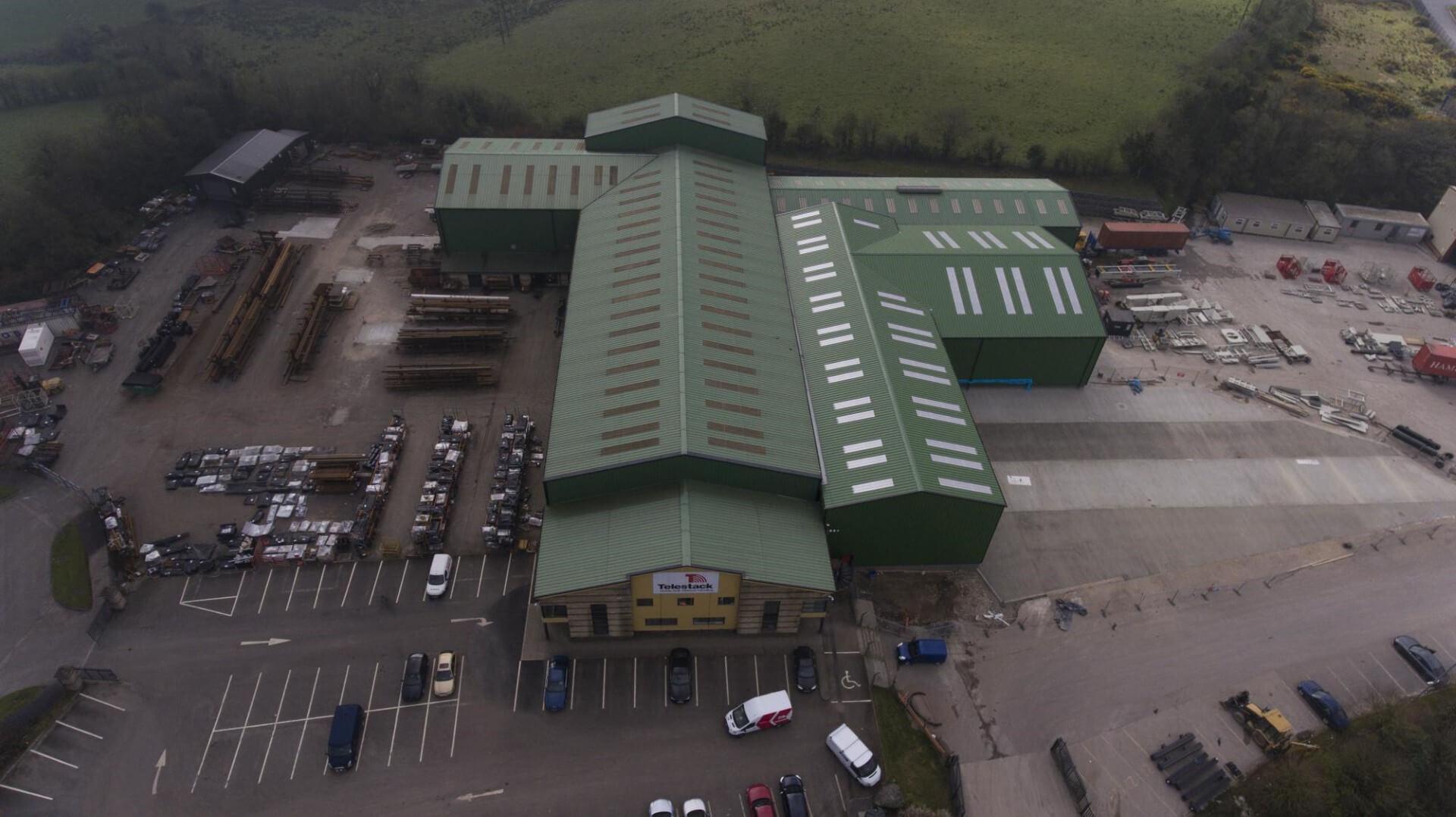 Telestack opent nieuwe straal- en spuiterij in Omagh