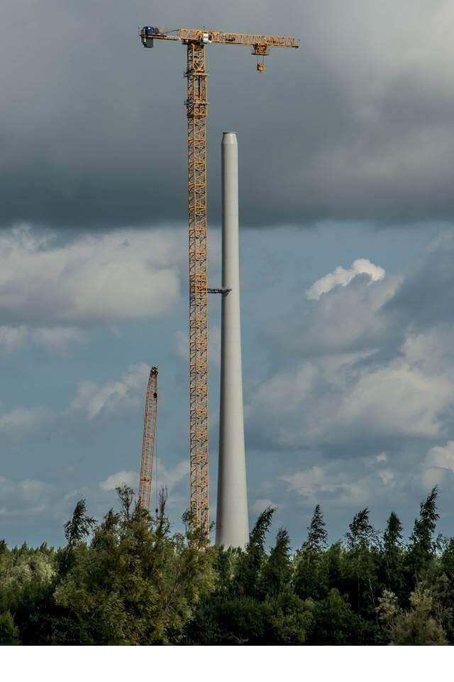 Liebherr-giganten aan het werk in Nederland