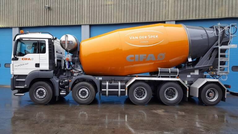 Nieuwe demo van Cifa truckmixer