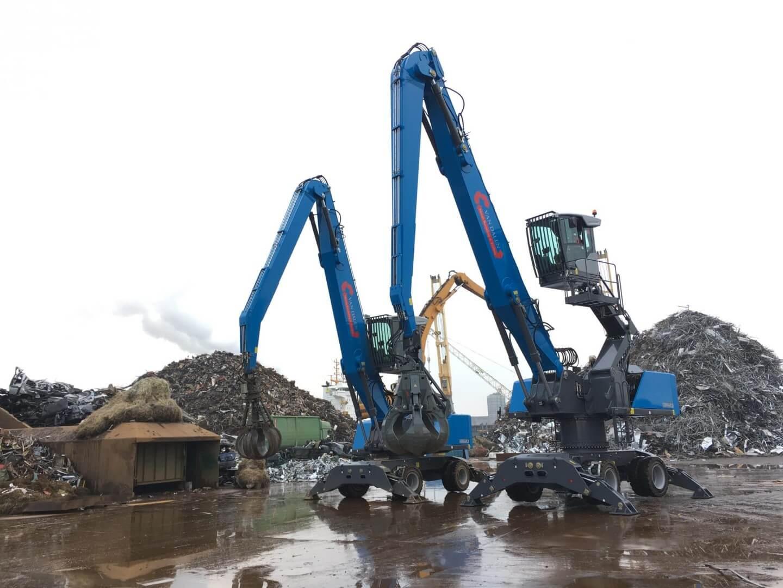 Het duo Fuchs-en is compleet bij Van Dalen Metals Recycling & Trading in Moerdijk