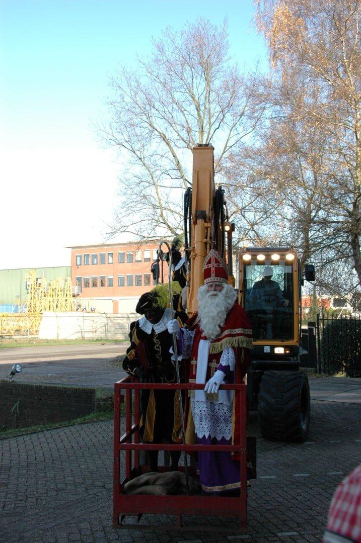 Ook Sinterklaas kiest voor de nieuwe Hyundai 9-serie bij Van der Spek