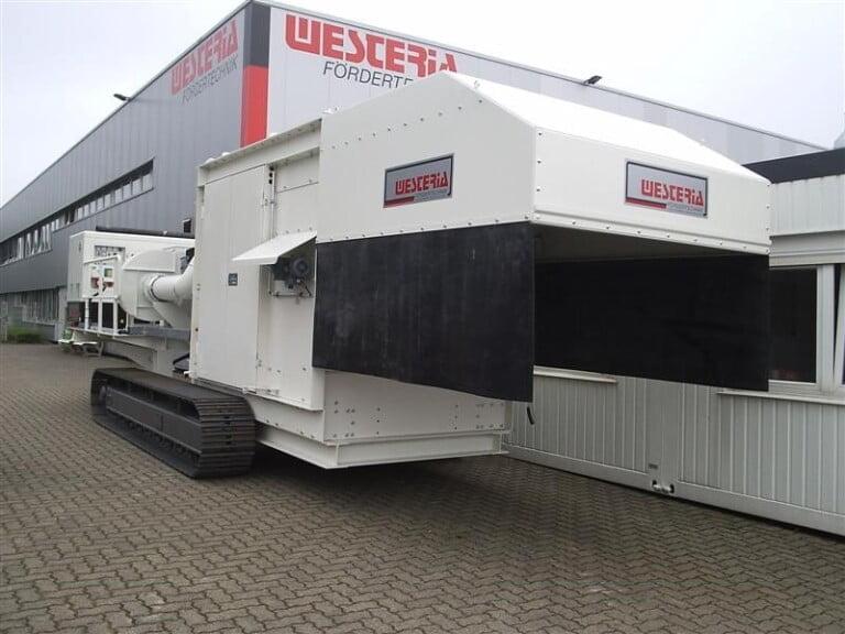 Van der Spek zorgt voor schone fracties met leveringen van Westeria Windshifters