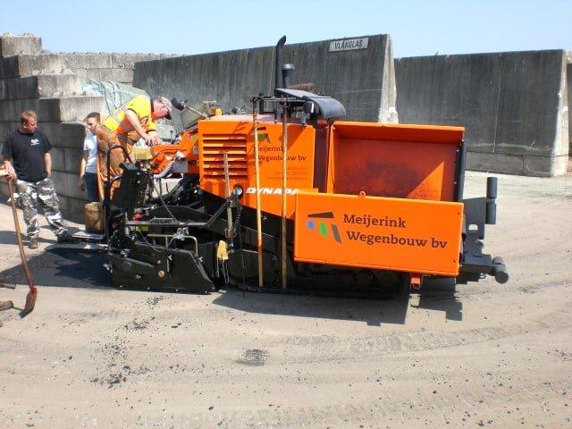 Nieuwe Dynapac F5CS voor Meijerink Wegenbouw