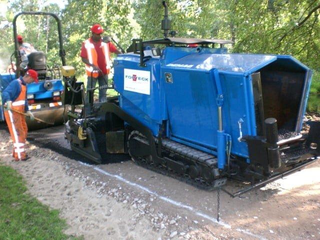 Van der Spek Vianen levert een complete asfaltset aan Forteck