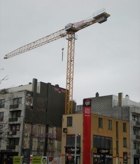 Lieferung neuen Liebherr flat top Kran