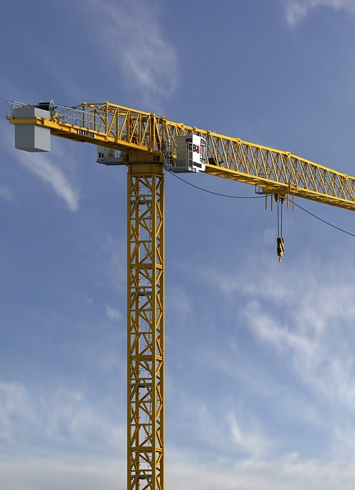 Liebherr introduces new tower crane on Intermat
