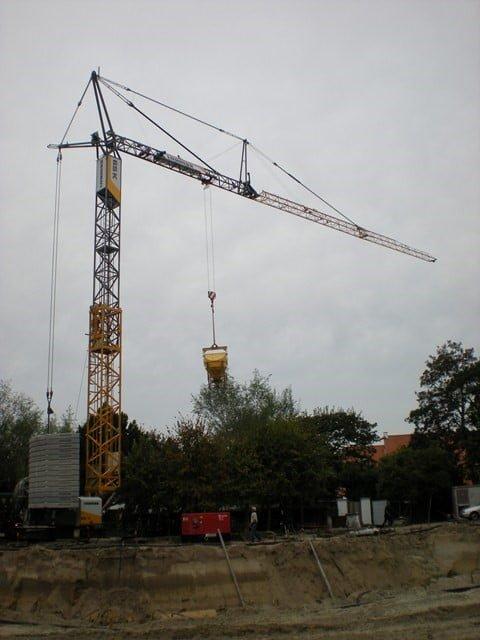 Second delivery new Liebherr fast-erecting crane type 65 K
