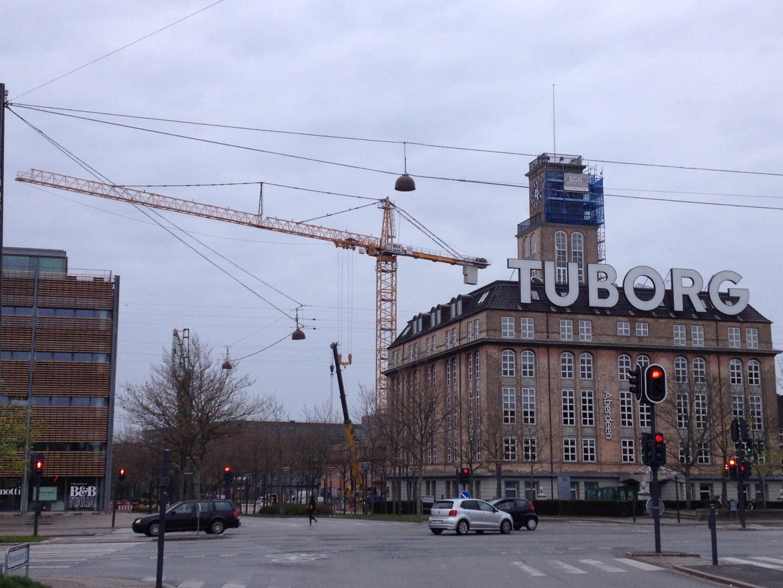 Van der Spek erects gigantic Liebherr tower crane in Denmark