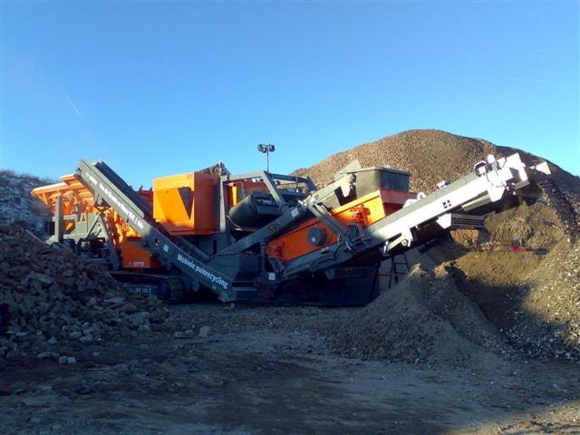 Nieuwe Kleemann MR100Z(S) puinbreker geleverd aan Kraats en Bouw